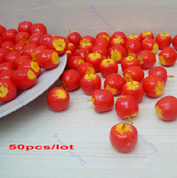 decorative fruit - Fake Mini Apple Artificial Fruit Model House Kitchen Party Decorative