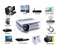 Wholesale Android HD Projector Lumens LED D Support WiFi i home Projector