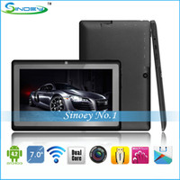 Wholesale Promotion Cheap Q88 Tablet inch Dual Core WiFi HDMI Dual Camera Android Tablet PC Actions ATM7021 Dual Core A23 Updated Q88 Q8S
