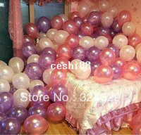 Wholesale Balloon Christmas balloon wedding decorations thick inch round pearl arches balloon