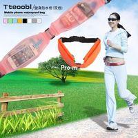 Wholesale Tteoobl waterproof Waist Bag P C storage bag sports pockets double pack