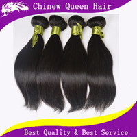Wholesale 7A Queen Hair Products Peruvian Virgin Hair Natural Straight Weft Remy Hair Weave quot quot