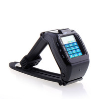 Wholesale 30pcs Unlcoked Mobile With quot Touch Screen Camera Bluetooth Mp3 FM GPRS N388 Wrist Watch Phone GSM Quad Band