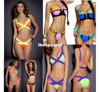 beach bunny swimwear - New sexy Women s Bikinis Set Retro Bikini Swimwear zilian Hot Bikini Beach bunny agent provocateur Bandage Swimsuit