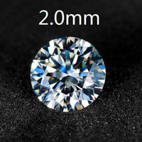 Wholesale HotSale High Quality Synthetic Moissanite Diamonds points Loose Diamond mm VVS White Color