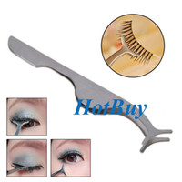 Wholesale Pro Beauty Extension Remover Applicator Clip Tool False Eyelashes Tweezer Nipper