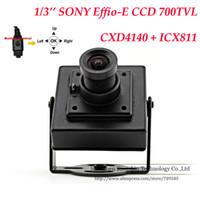 B072302D70 SONY Mini Camera Factory Direct Free shipping 1 3 SONY EFFIO-E SENSOR 700TVL HD Indoor Camera Security CCTV With OSD Menu