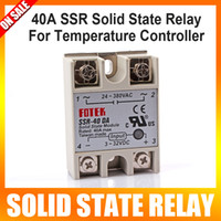 Wholesale 40A SSR SOLID STATE RELAY for temperature controller