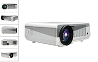 Wholesale Quad Core Android Full HD LED Projector Smart Projector WIFI LED D Supprt USB