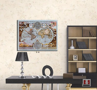 One Panel Digital printing Fashion The world map painting office decoration canvas wall art game of thrones map for home decor school decoration 2 styles