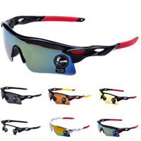 al por mayor sunglasses bike-La nueva actualización de ciclo de la bicicleta de la bici Deportes gafas de moda gafas de sol de los hombres / de las mujeres de montar vidrios de la pesca Colores