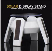 Solar Powered 360 degree Rotating Display Stand Turntable Pl...