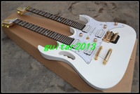 Cheap Solid Body electric guitar Best 6/12 Mahogany Double neck Guitar