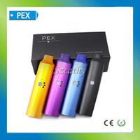 Wholesale 2014 PEX dry herb vaporizer ego kit vapor pen PEX vaporizer ego cigarette dry herb mah battery mod ecigator VS wax e cigarette