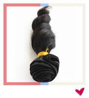 Productos de pelo de la reina Grado 6A pelo virginal brasileño de la armadura del pelo del funmi de la socia del enrollamiento de 3pcs / lot # 1b 10-28
