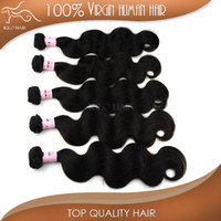 Wholesale 25 OFF Brazilian Hair Extension Body Wave Virgin Human Hair inch to inch