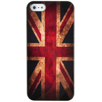 For Apple iPhone apple unions - New Arrival Retro the Union Flag the Union Jack Hard Plastic Mobile Phone Case Cover For Iphone S S C Plus up