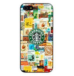 Wholesale New Brand Hot Sale Starbucks Coffee Logo Picture Design Hard Plastic Mobile Protective Phone Case Cover For Iphone S S C up