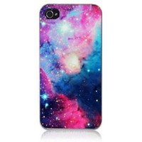 angels universe - Hot Sale Angel Wings Galaxy Space Universe Hard Plastic Back Protective Mobile Phone Case Cover For Iphone S and S C Girl up