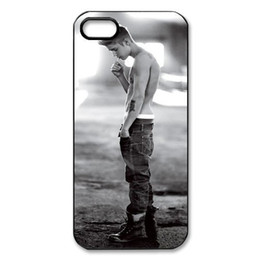 Wholesale Cool New Pop Idols Justin Bieber Boy Protective Hard Plastic Mobile Phone Shell Case Cover For Iphone S S C up
