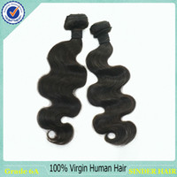 Peruvian Hair Body Wave Natural Black Color #1b  Clearance Sell!! Mixed Length 2pcs Lot Peruvian Virgin Hair Body Wave 100% Human Hair Extension Can Be Dyed And Bleached 6A Virgin Hair