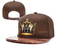 Cheap Strapback Brown Sombreros plana Brim Caps Sports Caps Strapbacks ajustables sombrero bordado Snakeskin Top Fashion Caps 2014 nueva llegada
