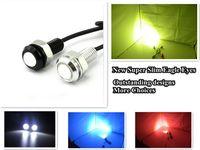 Wholesale 9W mm Tail light High Power LED Larger Lens Ultra thin car led Eagle Eye Tail light Backup Rear Lamp