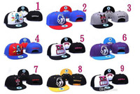 Wholesale 01 Fashion Hip Hop Hat Booger Kids Kidrobot Coke Boys Cayler Sons Snapback Hats Caps Fuckdown Swagg Cap