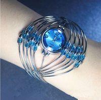 Wholesale Cheap Retail Quartz Wristband Watch Wedding Gift Watch Bracelet Watch W4