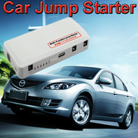 Wholesale 12V Car Battery Charger mAh Auto Jump Starter Multi Function Mobile Phone Power Bank Laptop Rechargeable Battery Drop Shipping