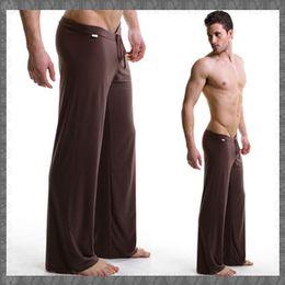 Wholesale Brand Men Yoga Pants Male Pajama Bottoms Pajama Pants Mens Lounge Pants Pajamas Pants For Men Masculina Yoga Pants