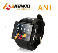 GSM850 English MTK Aierwill AN1 Watch SmartPhone MTK6515 Dual Core Handwriting Android 4.1 2.0inch Screen Support GPS Bluetooth Wifi FM Wrist Phone
