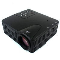 Wholesale New Mini LED Projector Game Multimedia Portable with AV VGA SD USB HDMI IR Remote Control H100 D5137A