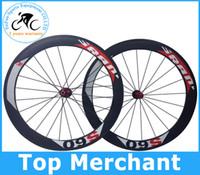 Wholesale SRAM S60 wheels mm rim full carbon road bike Wheelset wheels bicycle wheels include hubs spokes gifts sell colnago C59 cipnolli frame