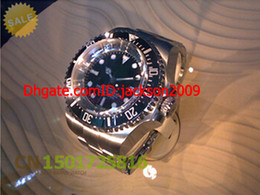 Wholesale Hot sales Low Price Luxury Watch mm Deep Sea Dweller Valjoux Movement High Quality Automatic Mens Watch Men s Watches
