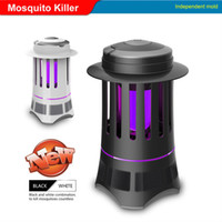Wholesale Efficient mosquito lamp LED photocatalytic mosquito killer Bionic technology quiet LED lamp LED rays mosquito traps