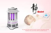 Wholesale Efficient mosquito lamp mosquito killer LED photocatalytic mosquito killer Bionic technology quiet LED lamp LED rays mosquito traps EMS