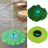 Wholesale Solar Powered Decorative Fountain with Highly Efficient Solar Panel and New Brushless Pump EGS_1A6
