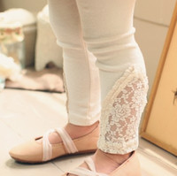 new clothes styles - 2014 Spring Summer Autumn New Style Girls Lace Cotton Leggings Children clothes kids clothes Y