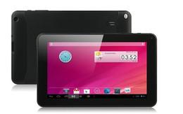 Androide dual 4.2 de la PC de la tableta de la cámara de la base de la base del cuerno de Allwinner A33 de la pulgada 4 pantalla capacitiva de 5 puntos capacitiva 1.5G 512M 8GB libera DHL desde dhl de la tableta de 8 gb fabricantes
