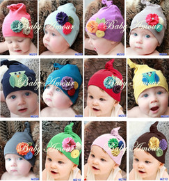 Wholesale Europe and America Original Brand Baby Boys amp Girls Infant Hundred Days Photo Styling Cap Cotton Blend Sets of Headgear