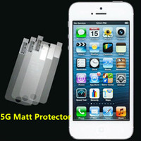 Wholesale LCD Matt Screen Protector Film No Packing For G G Itouch4 Itouch Front Protector Anti Gross Screen Film Guard XY MGP018