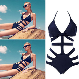 Wholesale swimwear Details about One Piece Women s Monokini Bikini Push up Padded Swimsuit WX