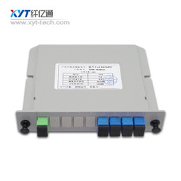 Wholesale PLC LGX BOX optical splitter SC connector