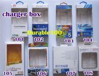 al por mayor iphone cargador de cartón-embalaje caja de cartón vacía Conjunto de cargador cargador de pared empaquetado de la ampolla al por menor del cargador de coche para iPhone 4 4S 5 5S 5C Samsung S4 S5