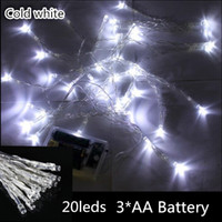 Wholesale Outdoor Indoor Festival String Lights M LED Colorful LED String Lights Battery Operated Christmas String New Year Wedding Decorations