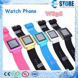 Wholesale Fashion sport watch phone Handset W838 Waterproof Watch Phone Inch Bluetooth Java HD Camera Bluetooth M