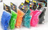 Cheap Rainbow Loom Kit DIY Wrist Bands Bracelet for kids (600+ latex super fan rubber bands included make up to 24 bracelets) 12 colors