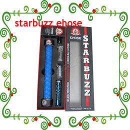 Wholesale Electronic Cigarette Starbuzz E Hose kit China Ehose e cigars Electronic Hookah Shisha Vaporizer Ehose e cig Kit Trend ecig
