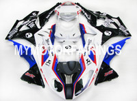 Wholesale Fit BMW S1000RR Year ABS Motorcycle Fairing Kit Bodywork Motorbike Parts Cowling HP4 Alien RR
